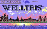 Welltris Commodore 64 Title Screen
