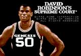 David Robinson's Supreme Court Genesis Title screen