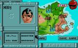 Iron Trackers Atari ST Selecting Weapons