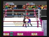 WWF Raw SEGA 32X Undertaker vs. 1-2-3 Kid