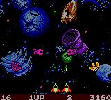 Galaga: Destination Earth Game Boy Color Why was the Death Star here?