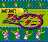David Crane's Amazing Tennis SNES Title screen (Japanese release)