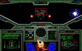 Wing Commander Amiga Encountering a Dralthi