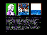 Dragonworld Apple II Sailing... and crashed.