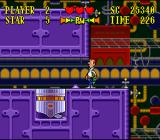 The Jetsons: Invasion of the Planet Pirates SNES Better avoid these automatic pullers...