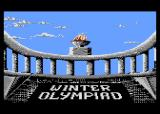Winter Challenge: World Class Competition Atari 8-bit The torch (Winter Olympiad '88)