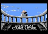 Winter Challenge: World Class Competition Atari 8-bit The torch (Winter Challenge: World Class Competition)