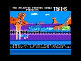 Trains Apple II Title screen