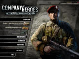 Company of Heroes: Opposing Fronts Windows Main Menu