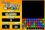 Super Collapse! II Game Boy Advance Level 1