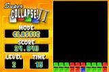 Super Collapse! II Game Boy Advance Starting level 2.