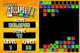 Super Collapse! II Game Boy Advance Level 1 in relapse mode