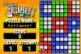 Super Collapse! II Game Boy Advance Puzzle 1