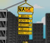 Nade Reborn Browser The title screen