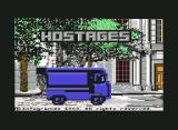 Hostage: Rescue Mission Commodore 64 Title Screen with S.W.A.T.