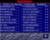 Bundesliga Manager Professional Amiga End results of 3rd division