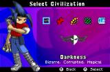 Duel Masters: Shadow of the Code Game Boy Advance Select your civilization.