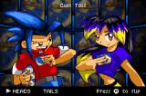 Duel Masters: Shadow of the Code Game Boy Advance The coin toss to see who goes first.