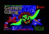 Gemini Wing Amstrad CPC Title screen