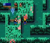 Zombies Ate My Neighbors SNES Before I could reach him, the neighbor was killed by a chainsaw maniac
