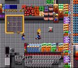 Zombies Ate My Neighbors SNES Child's Play! Inside the supermarket Zeke is attacked by Chucky and his brothers