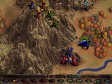 Warhammer 40,000: Rites of War Windows Traversing a mountain to reach the enemies' citadel.