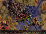 Warhammer 40,000: Rites of War Windows Fighting an entrenched enemy in a city is a bloody affair.