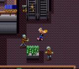 Zombies Ate My Neighbors SNES Zeke drinks a magic potion and...