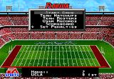 College Football USA 97 Genesis Before starting a game.