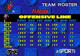 College Football USA 97 Genesis Team roster