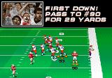 College Football USA 97 Genesis First down