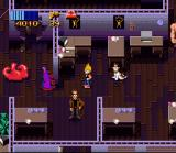 Zombies Ate My Neighbors SNES Inside LucasArts headquarters a certain famous tentacle makes an cameo appearance