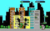 Rampage DOS Destroying buildings (EGA/Tandy)