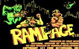 Rampage DOS Title screen (CGA)