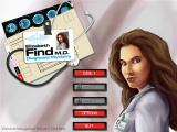 Elizabeth Find M.D.: Diagnosis Mystery Windows Main menu