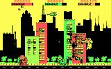 Rampage DOS Smashing buildings (CGA)