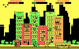Rampage DOS Chasing a trolley (CGA)