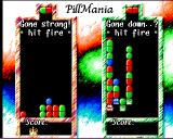 Pillmania Amiga Clear all viruses to win the level