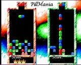 Pillmania Amiga Wins in two-player mode are indicated by crowns