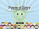 Points of Entry: An Immigration Challenge Browser Title screen