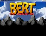 Bert the Barbarian Windows Title screen