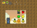 Super Mafia Land Browser A hidden room with fruit