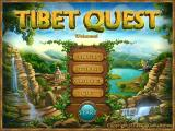 Tibet Quest Windows Main menu