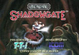 Beyond Shadowgate TurboGrafx CD Title screen