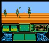 Top Gun: The Second Mission NES Avoiding trees