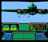 Top Gun: The Second Mission NES Taking down an enemy bomber