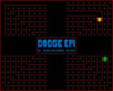 Dodge 'Em Amiga First lap around the track