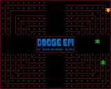 Dodge 'Em Amiga Later levels feature more than one enemy.