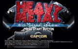 Heavy Metal Geomatrix Dreamcast Title