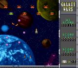 Galaxy Wars SNES Heading through the asteroids (Neo mode)